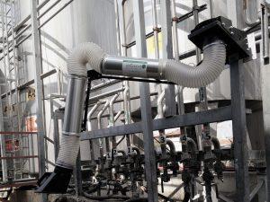 יניקה מוגנות פיצוץ במפעל דלקים 1