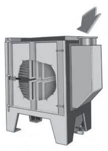 תמונה של יחידת סינון דגם OIL עבור אדי שמן