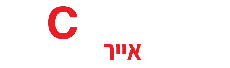 לוגו איירקונטרול לבן